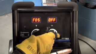 Millermatic® 252 MIG welder system reset