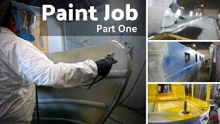Painting Our New Narrowboat - Part One