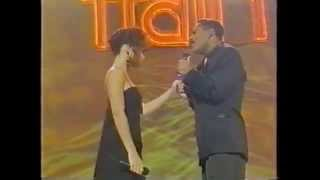 Soul Train 91' Performance - Keith Washington and Chanté Moore - Candlelight and You!