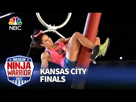 Maggi Thorne at the Kansas City City Finals - American Ninja Warrior 2017