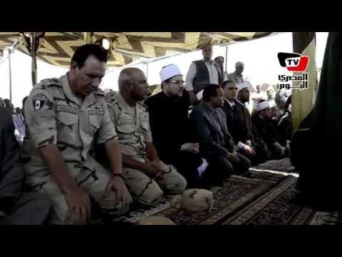 وزير الأوقاف وقيادات الجيش يؤدون صلاة الجمعة بقناة السويس