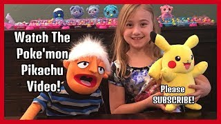 POKE'MON PIKACHU VIDEO TOY REVIEW- TOY WORLD WEEKLY!