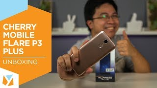 Cherry Mobile Flare P3 Plus Unboxing, Hands-on: First local smartphone with Android Go Edition
