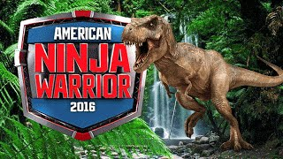 American Ninja Warrior T-Rex Jurassic Park HD