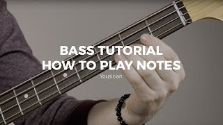 Bass Tutorial - How To Play Notes