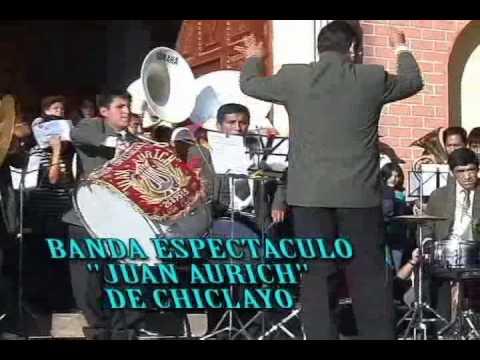 BANDA DE MUSICOS JUAN AURICH  ... VALS MI PERU