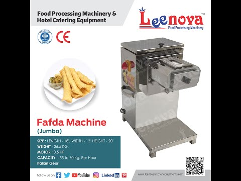 Fafda Gathiya Making Machine