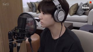 [BANGTAN BOMB] Behind the scenes, recording Euphoria (DJ Swivel Forever Mix ver.) - BTS (방탄소년단)