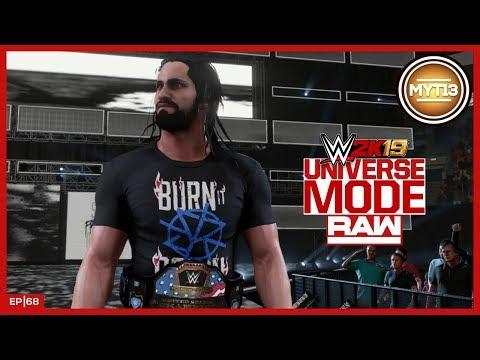 WWE 2K19 - Universe Mode - RAW - Ep 68 - Denied