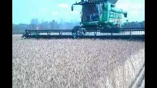 preview picture of video '2012 Wheat Harvest Stoutenburg Farms'