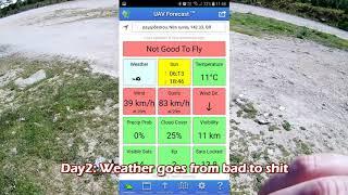 Flysky Nirvana with x6b receiver range test (banggood
