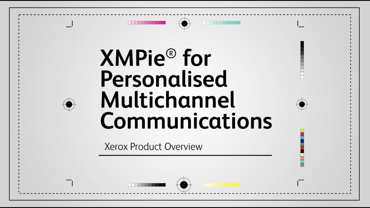 Personalised Multichannel Communications with XMPie YouTube Video