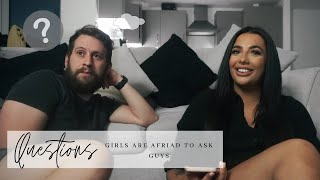 Asking a BOY Questions Girls Are Too Afraid To Ask...