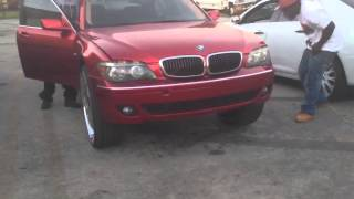 Bmw 750 Kandy Teal On Dub Ballers Free Video Search Site Findclip