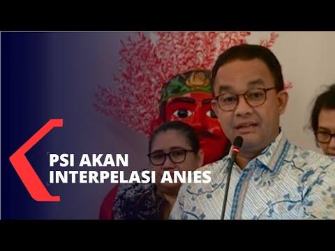 Banjir Jakarta, PSI akan Interpelasi Gubernur Anies Baswedan