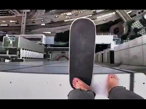 INSTABLAST! - DEADLY SKATING on SKYSCRAPER !!?! Double Skateboard Ripping!! Skater Vs Old Man!