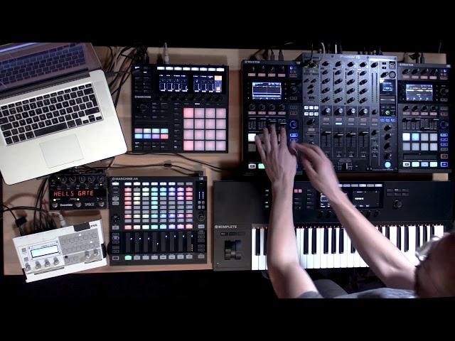 Icicle live using TRAKTOR, MASCHINE, and KOMPLETE KONTROL | Native Instruments