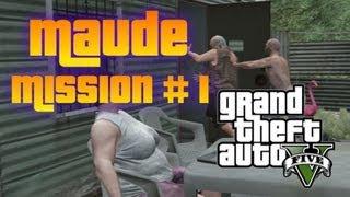 """GTA 5 - Maude Bail Jumper Mission #1 """"Ralph Ostrowski"""" Location (Quarry)"""