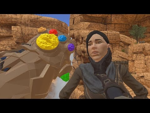 So they put the Infinity Gauntlet in Blade & Sorcery VR