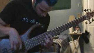 311 Sometimes Jacks Rule The Realm Coda bass cover (solo)
