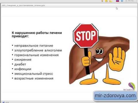 Народный метод лечение печени от паразитов