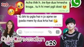 Cute Conversation Of Boy And Girl | Best Friend Forever  | Friendship Day