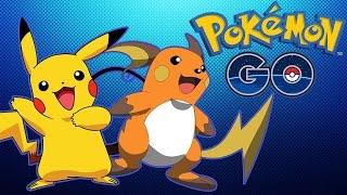 Raichu  - (Pokémon) - POKÉMON GO - EVOLUINDO O PIKACHU PARA RAICHU E OWNANDO O GINÁSIO!
