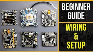 FPV Beginner Guide P1 // HOW TO WIRE FLIGHT CONTROLLER GUIDE 2019