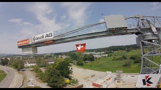 SNEAKY PEEKY, 건설 현장 - Baustelle Dreifachhalle Gossau ZH Episode 20 - #FPV #SwissNationalHoliday ????????