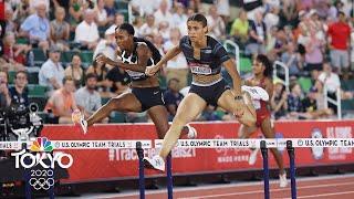 The Rhythm of the Hurdles   Tokyo 2020 Olympics   NBC Sports
