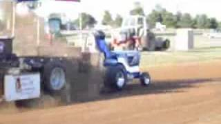 Bad Habit garden tractor pull - Hoyt, KS