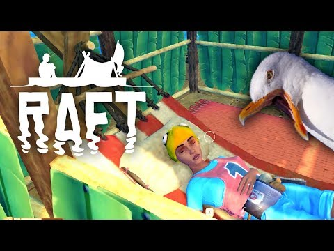 A Place to Rest Our Heads - Raft: Domesticated Update - #11 (Raft Multiplayer Gameplay)