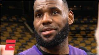 LeBron sympathetic to Lakers teammates involved in trade rumors | NBA Sound