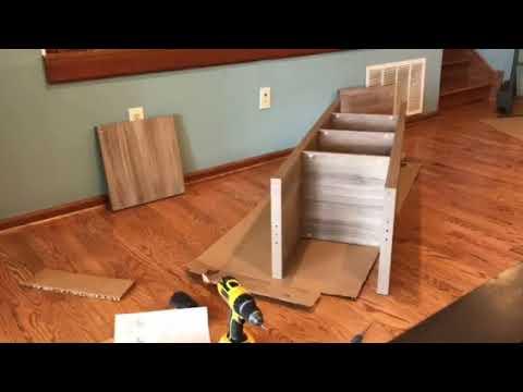 Ikea kallax assembly time lapse