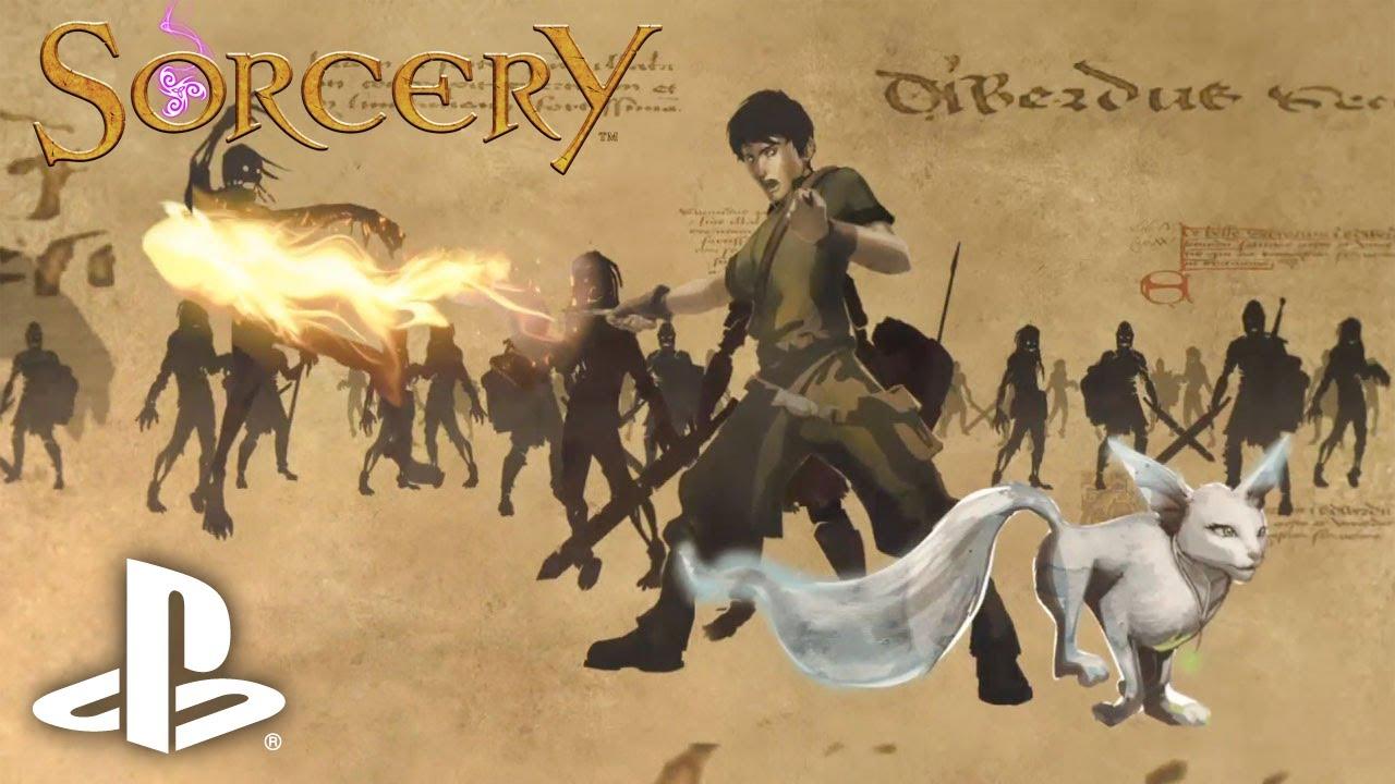 Sorcery Conjures Story Trailer, Final US Box Art