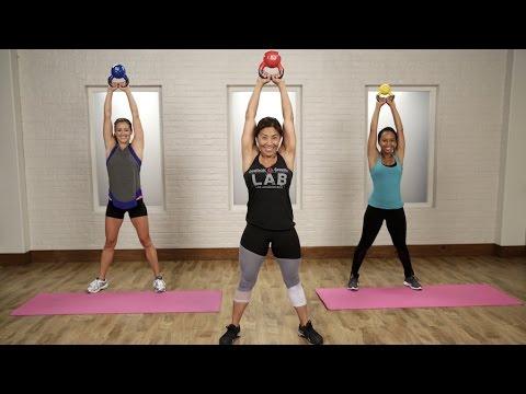 20 Minutter Kettlebell-trening med Yumi