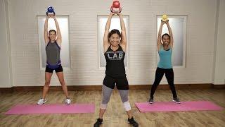 20-Minute Kettlebell Workout   Class FitSugar by POPSUGAR Fitness