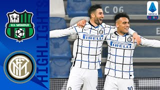Sassuolo-Inter 0-3, highlights