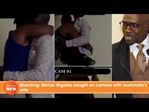 Shocking: Malusi Gigaba caught on camera with workmate's wife