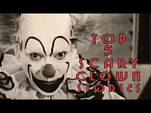 5 Creepiest And Disturbing Clown Stories