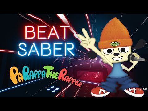 Beat Saber] PaRappa the Rapper - Instructor Mooselini's Car