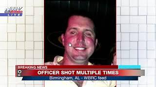 OFFICER INJURED: Birmingham Police officer injured after responding to robbery