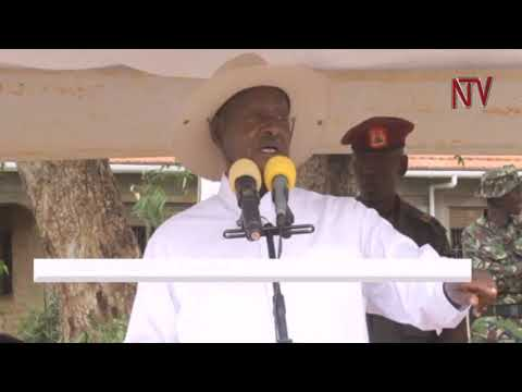 Museveni hands over 322 customary land titles