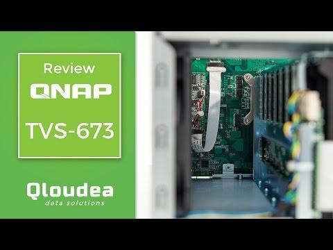 Review QNAP TVS-673 - Servidor NAS de 6 bahías