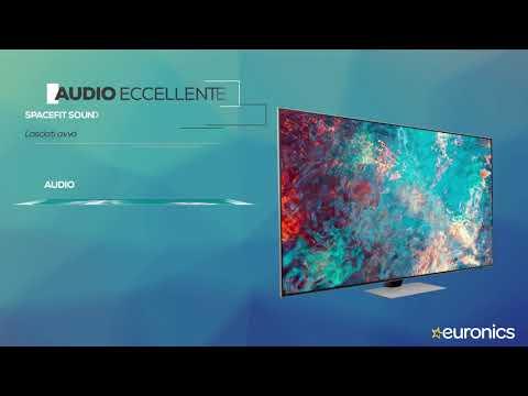 "SAMSUNGTV Neo QLED 4K 65"" QE65QN85A Smart TV Wi-Fi  2021Eclipse Silver"