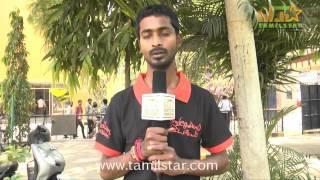Cinematographer Saravanan Speaks at Naangellam Edagoodam Press Meet