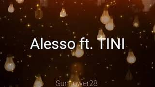 Sad Song ● Alesso Ft. TINI | Letra En Español