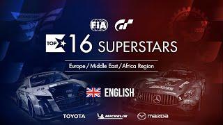 Gran Turismo Sport Top 16 Superstars - Round 28 - EMEA Region [English]