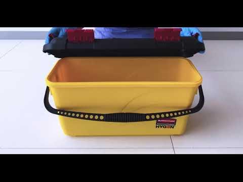 Product video for HYGEN™ Microfiber Charging Bucket, Yellow