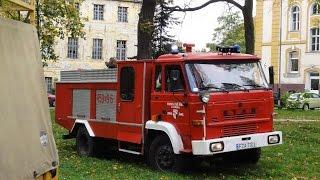 preview picture of video 'Pożar na terenie 105 Szpiitala Wojskowego w Żarach'